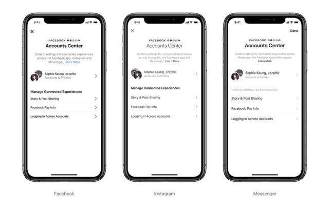 Facebook Begins Testing Accounts Center Across Facebook