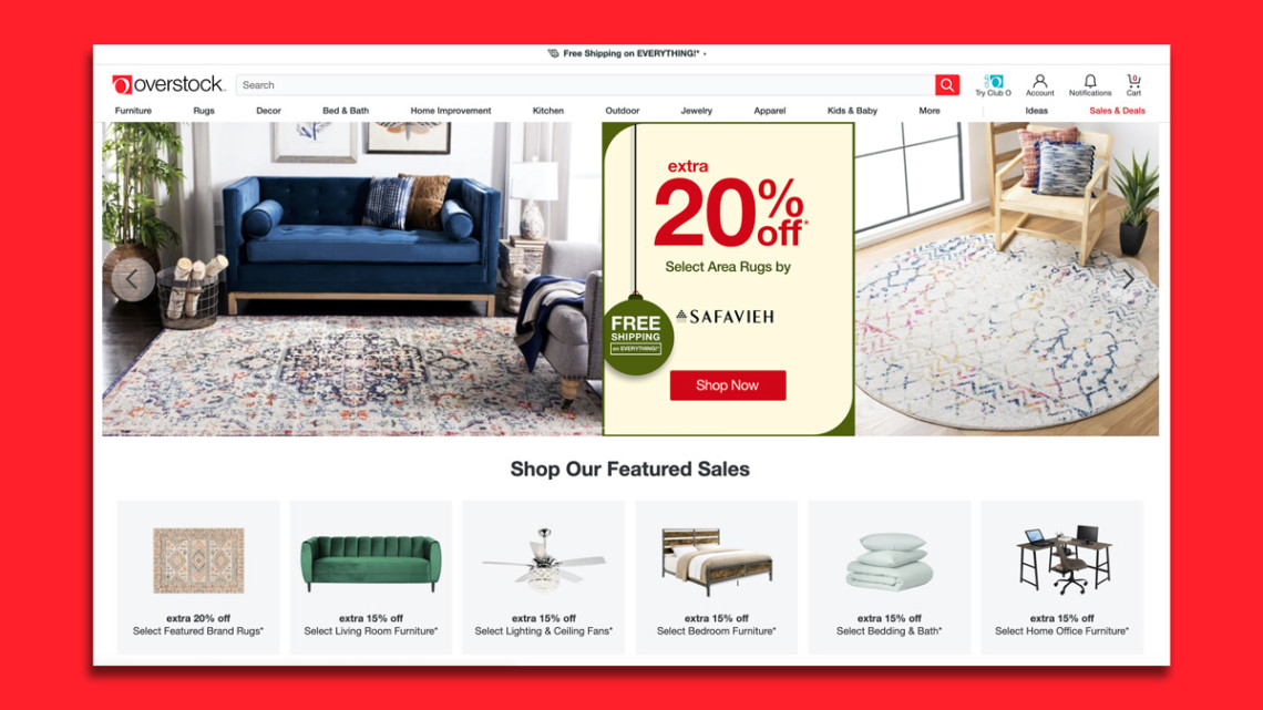 Eyeing Growth in 2021. Overstock Could Tie Up With a Physical Retailer