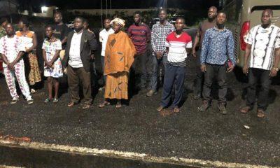 V/R: 14 Western Togoland suspected Secessionist Arrested at Kpando Aziavi 6