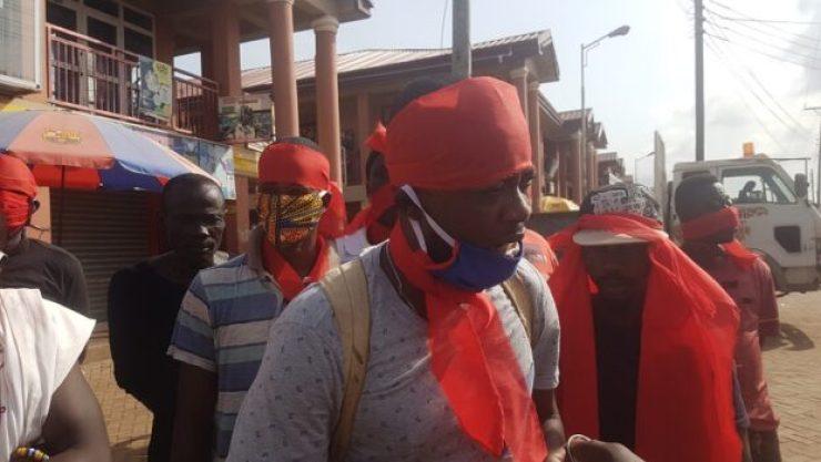 Asokwa on fire: angry NPP youth invoke deities on party leaders stifling Dr Boakye's parliamentary bid 2