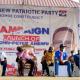 Prez Nana Addo caught sleeping at NPP campaign launch in Volta region. 5