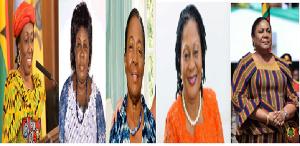 Meet Ghana's 5 First Ladies. 10