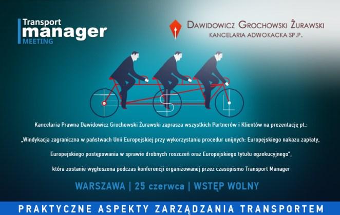 szkolenie dla firm transportowych
