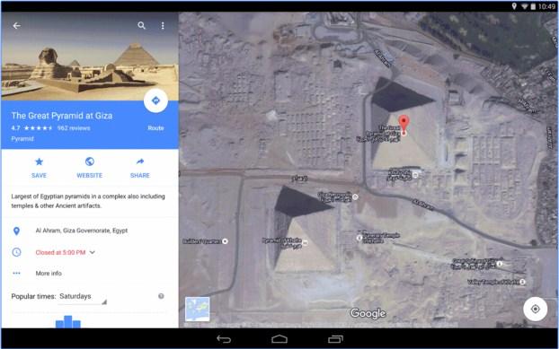 Google Maps Aplikasi GPS Penunjuk