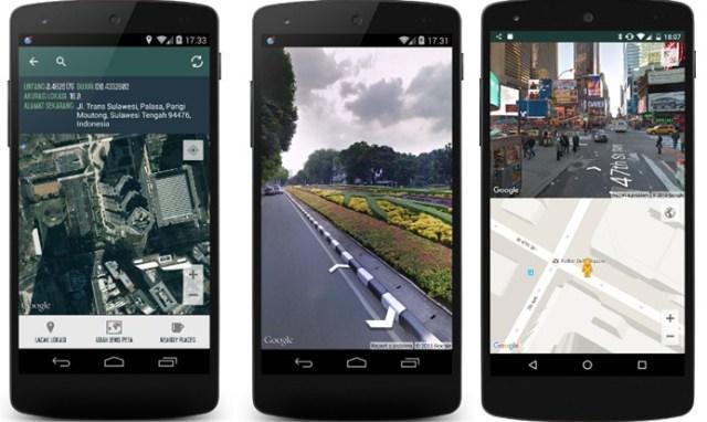 Aplikasi Penunjuk Jalan dan Lokasi