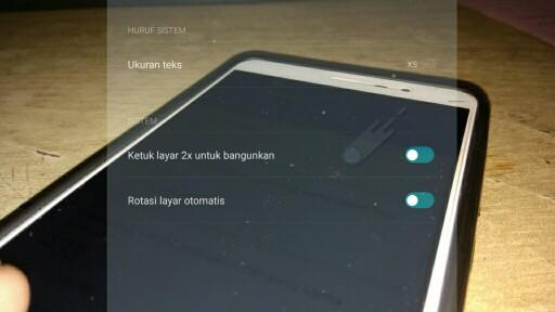 Cara Mengaktifkan Ketuk Layar 2x Hp Xiaomi