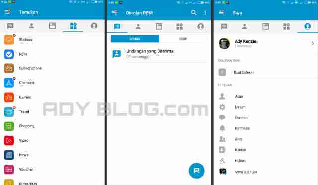 Download BBM 3.3.1.24 Apk Android
