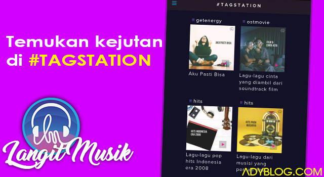 aplikasi langit musik