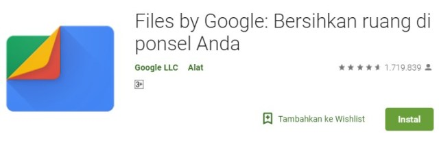 Download Aplikasi Google File