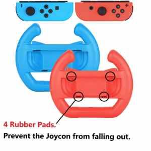 nintendo switch mario kart joy con wheel