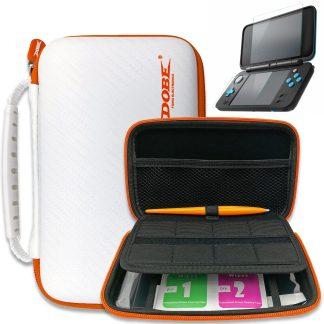 nintendo 2ds xl carry case protective kit