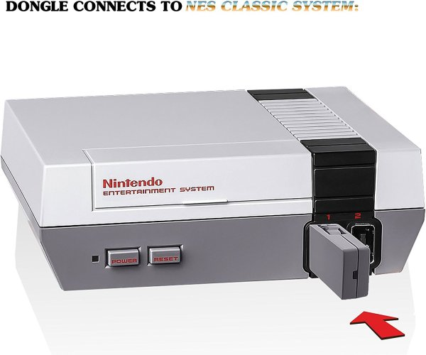 Nyko Miniboss AAA for NES Classic Edition dongle