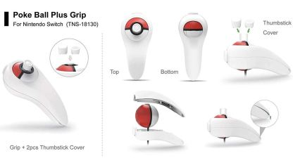Dobe TNS-18130 pokemon pokeball controller grip