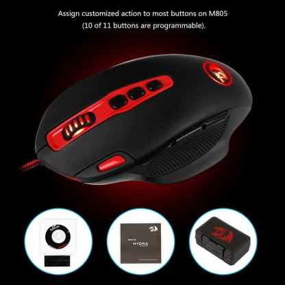 redragon m805 hydra gaming mouse