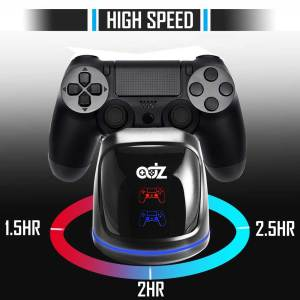 ADZ ps4 controller charging dock station charger