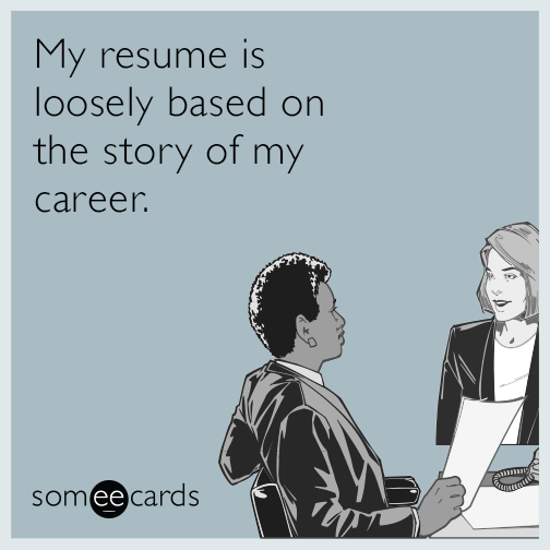 how do you make a resume for your first job