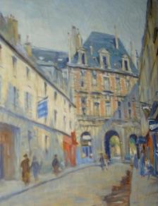 Andr Eugne COSTILHES Artiste Peintre 1865 1940