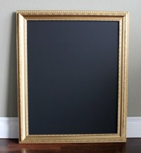 Large Gold Framed Chalkboard - ae creative