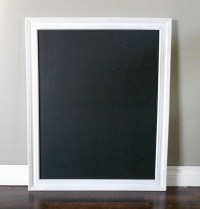 XL White Framed Chalkboard - ae creative