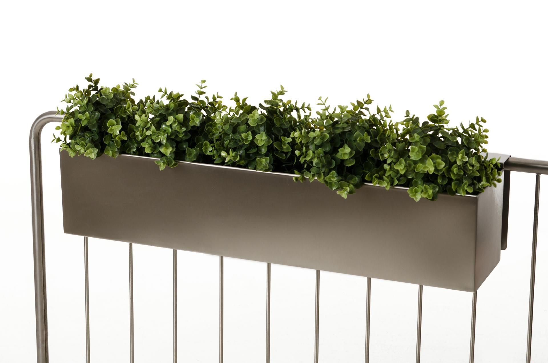 Blumenkasten Balkonkasten Kasten Binox V2A Edelstahl 100