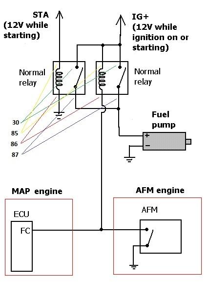 EFI fuel pump wiring, help please