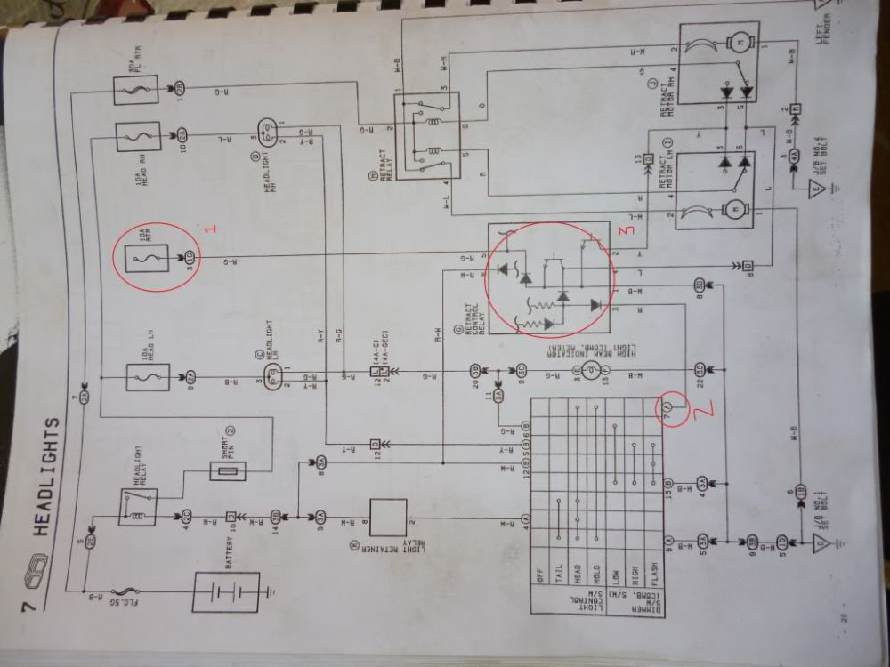 medium resolution of ae86 headlight wiring diagram
