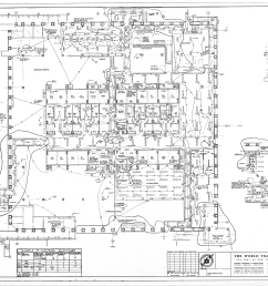 table of world trade center tower a electrical drawings [ 7559 x 5396 Pixel ]