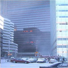 fires on 5th and 12th floors