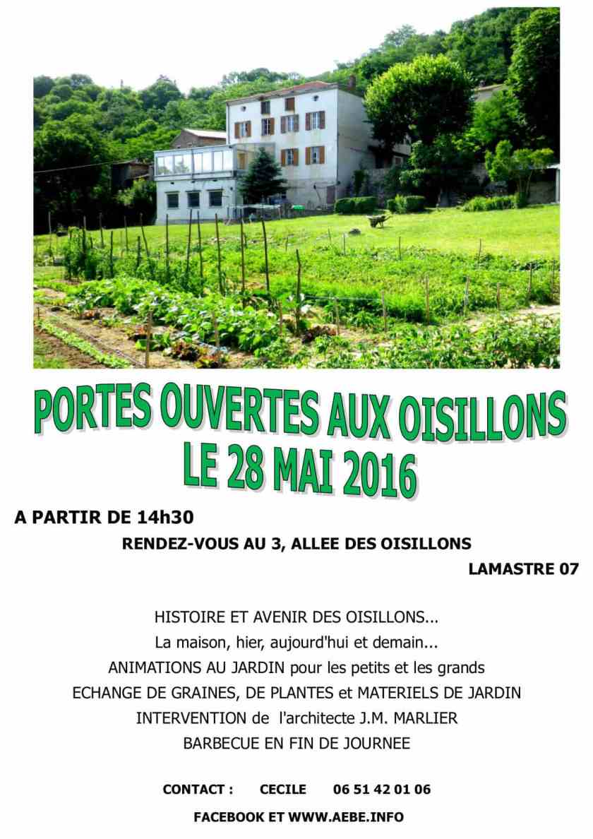 Tract Portes ouvertes Oisillons 28 mai 2016