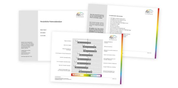 Muster einer AEC-disc Potentialanlyse zum Download