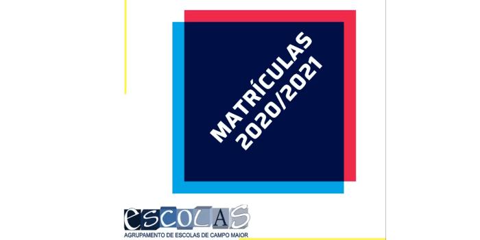 Matrículas 2020/21 | Informações