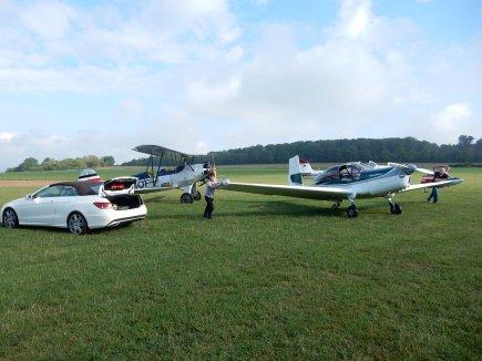 Fliegerwerft Sommerausflug1