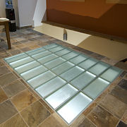 Glass block tiles from Innovate Building Solutions on ...