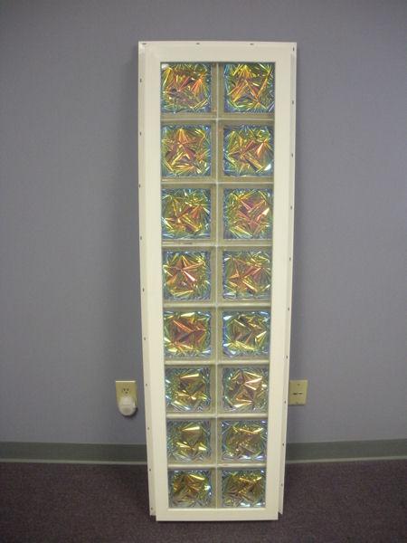 Vinyl framed glass block windows from Innovate Building Solutions on AECinfocom
