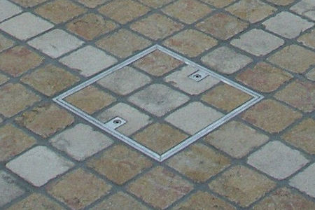 Small Floor Access Covers From Howe Green US CAD Details
