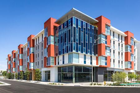 AECinfocom News LaHabra Adds a Pop of Color to California State University QUAD