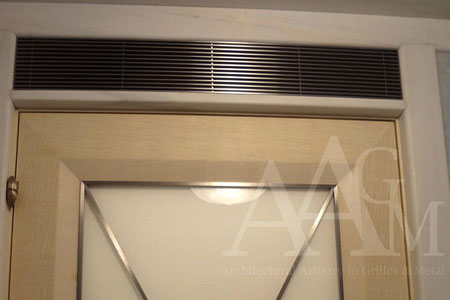 AECinfocom News Plaster JBead Linear Bar Grille from Advanced Arch Grilles