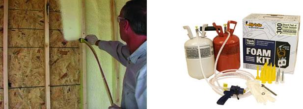 AECinfocom News Professional Grade Spray Foam Insulation