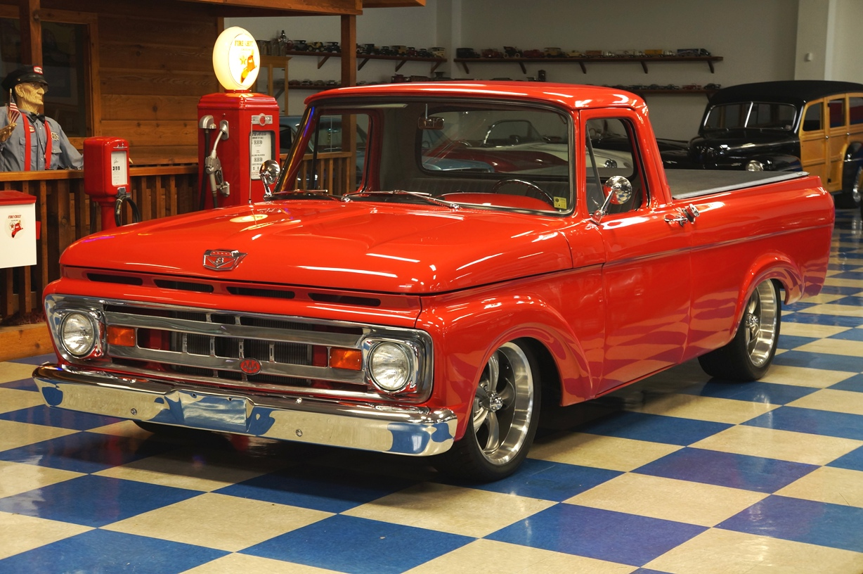 hight resolution of 1961 ford f100 pickup red full