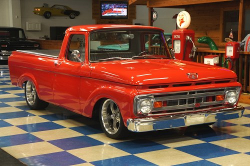 small resolution of 1961 ford f100 pickup red full