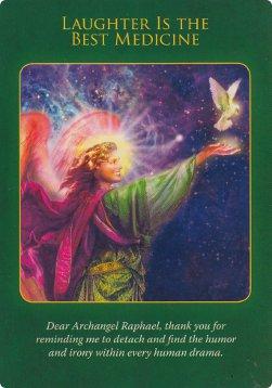 大天使拉斐爾療癒神諭卡 Archangel Raphael Healing Oracle Cards   晶荷花精購物網