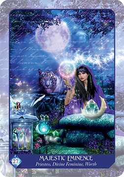 Magical Dimensions Oracle and Activator Cards