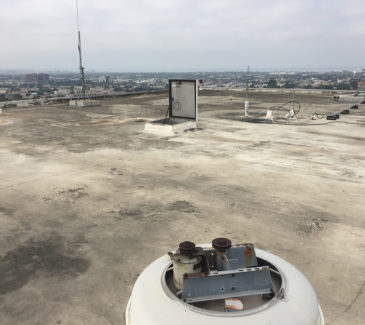 VA LA Re-Roof - Existing Roof Conditions
