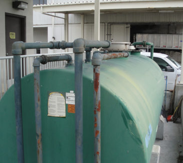 Kitsap County Fuel Upgrade - Existing Tank