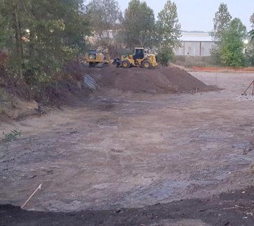 Center Pond Wetland Restoration - Site Prep