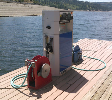 Seven Bays Marina Fuel Repairs - Existing Pump