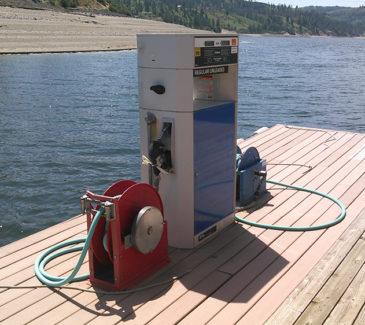 Seven Bays Marina Fuel Repairs - Existing Pump