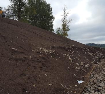 Dahl Beach - Fresh Soil Application