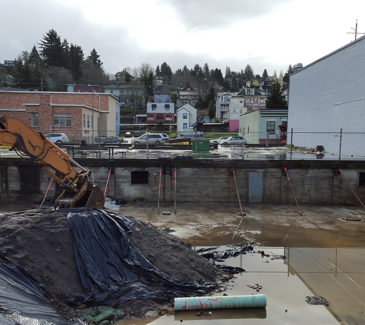 Astoria Heritage Square Soil Removal - Halfway Through Soil Removal
