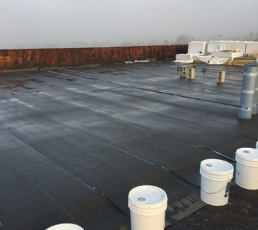 VA LA Re-Roof - Cleaning Up Existing Roof